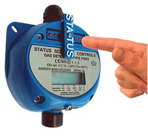 FGD 3 Infrared Carbon Dioxide Gas Detector from Status Scientific Controls