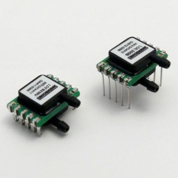 LDE Low Pressure Sensor for High Immunity to Dust and Humidity