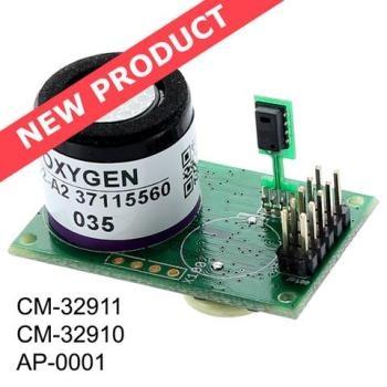 Smart EC Sensor for up to 25% Oxygen by Volume