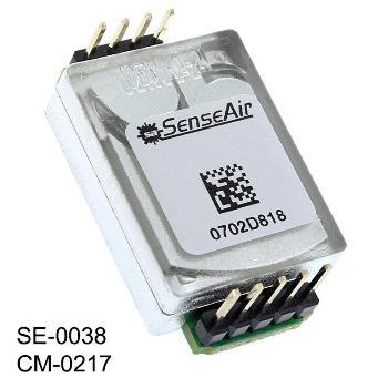 10,000 ppm CO2 Sensor for Solar Powered Applications
