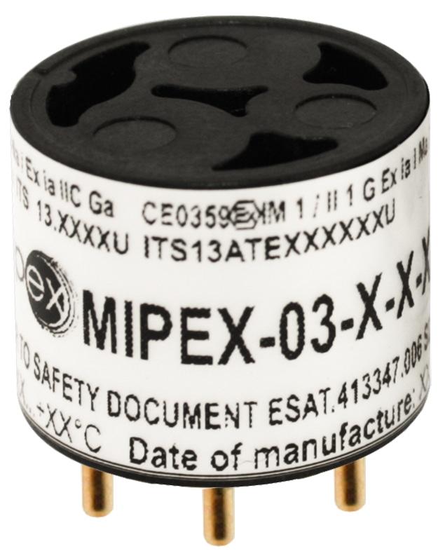 MIPEX-03 LED-Based NDIR Gas Sensors