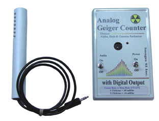 GCK-01 Analog Geiger Counters from Images SI, Inc.