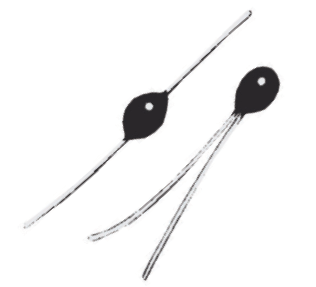 Thermometrics NTC Thermistors | Glass Type B—Resin-Coated