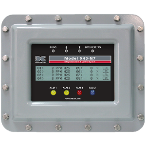 Alarm and Control System: Model X40