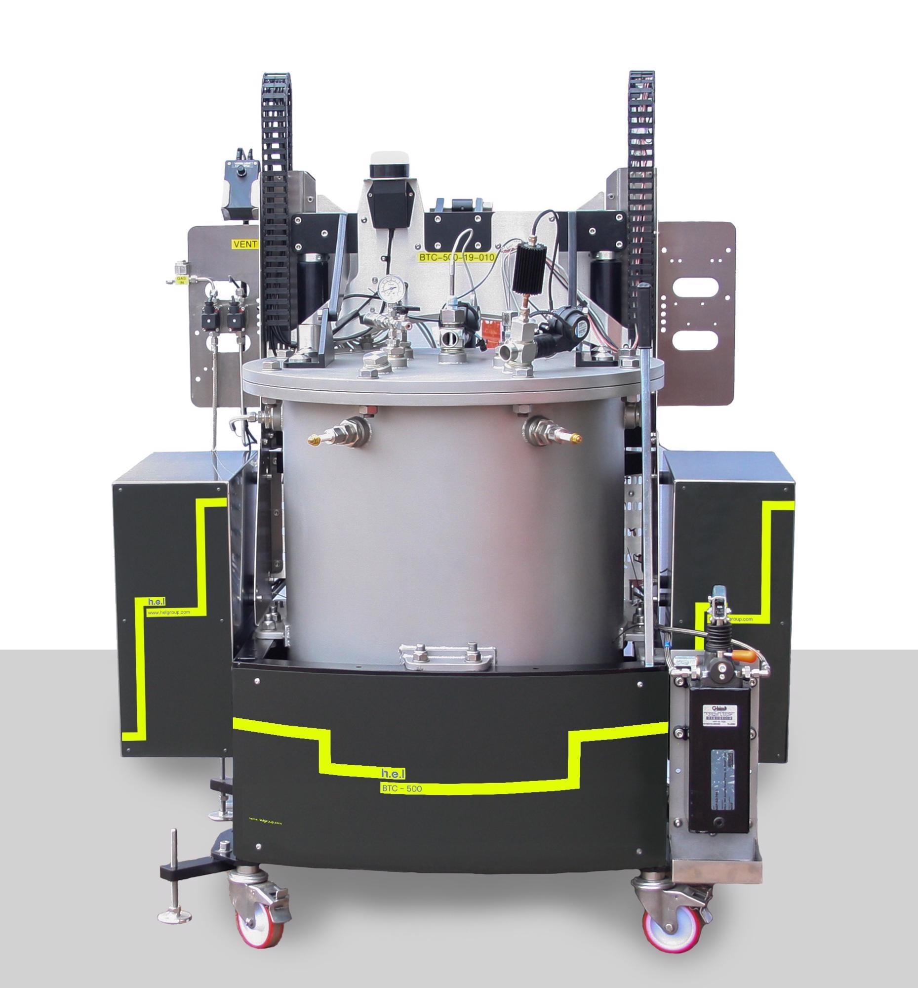 BTC-500: A Floor Standing, Battery Safety Testing, Adiabatic Calorimeter