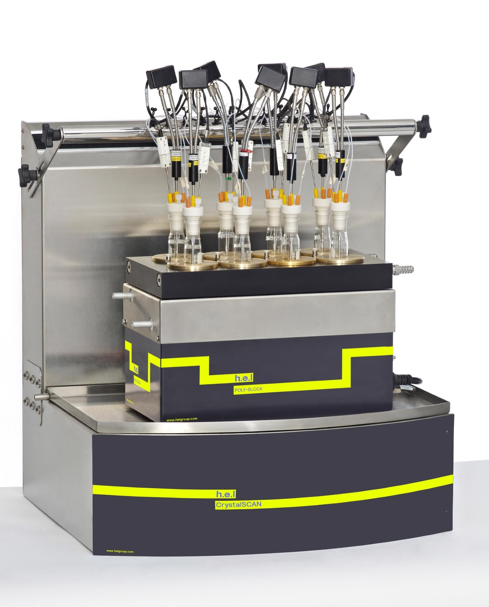 CrystalSCAN: Benchtop, Automated Parallel Crystallization Monitoring Platform