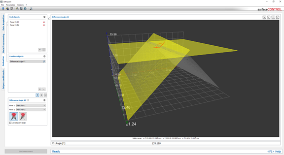 3D Snapshot Sensor for Inline Inspection of Geometry, Shapes and Surfaces
