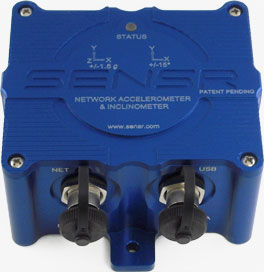 SenCX1 Network Accelerometer / Inclinometer