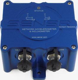 SenCX1 Network Accelerometer / Inclinometer