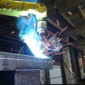 Welding Automation - Riftek's Laser Seam Tracking System
