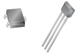 A1301 and A1302 Linear Hall Effect Sensor ICs from Allegro MicroSystems, Inc.