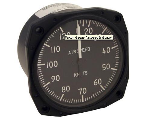 Falcon Gauge Airspeed Indicator from Transair Pilot Shop