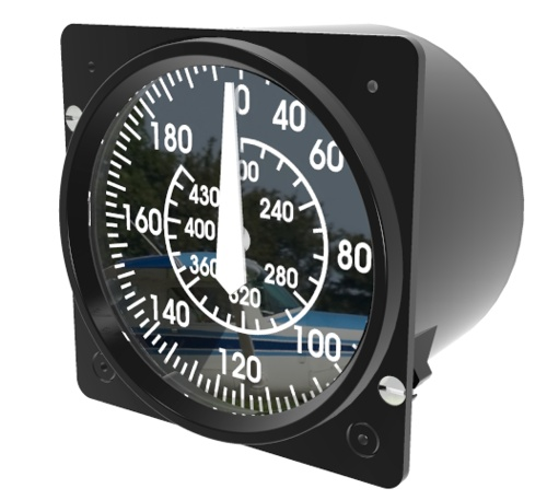 Airspeed Indicator Voight Corsair from Simkits