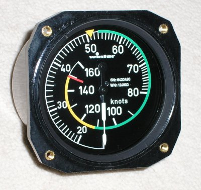Winter Airspeed Indicator from LX Avionics Ltd