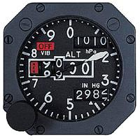 Counter Pointer Altimeter from Aerosonic Corporation
