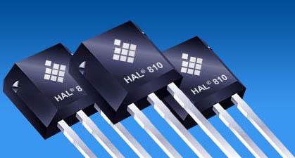 HAL 810 Programmable Hall Effect Sensor from Micronas