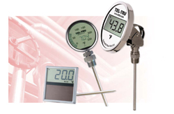 Electronic Digital Thermometers from Tel-Tru Manufacturing Company
