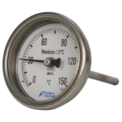 SB model Bimetallic Temperature Gauge from Forbes Marshall