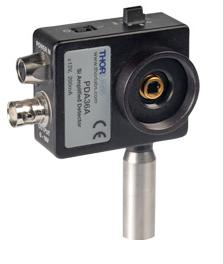PDA series Amplified Photodetectors from Thorlabs