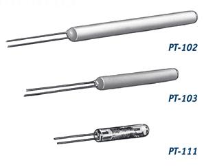 Platinum Resistance Temperature Detectors - PT-100 from Lake Shore Cryotronics