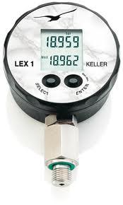 Using Keller's LEX 1 Instrument for Advanced Digital Pressure Measurements