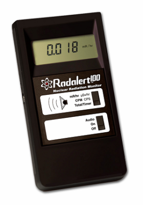 Geiger Counter for Radiation Detection - Radalert 100 by International Medcom
