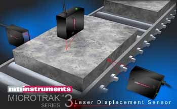 High Resolution, High Speed Laser Displacement Sensor – MICROTRAK 3