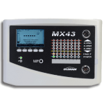 Monitor up to 32 Gas Detectors - MX 43 Controller