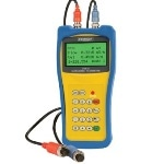 Handheld Ultrasonic Flow Meter to Measure the Fluid Velocity of Liquid in a Full/Closed Pipe