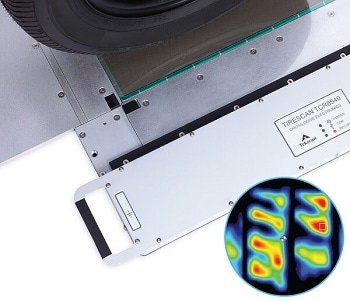 TireScan™ Pressure Imaging System for Tire Tread Analysis