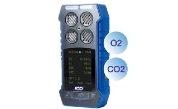 Multi Gas O2 and CO2 Detector- Portable Multi Gas Detector