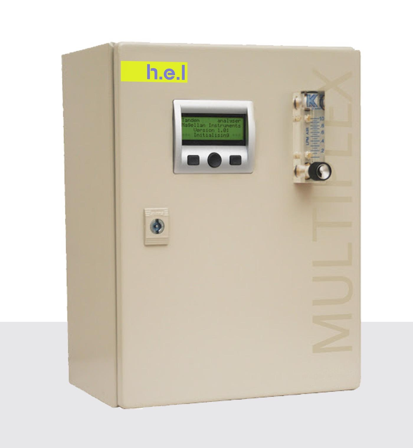 Tandem MULTI: A Multi-Line Off-Gas Analyzer