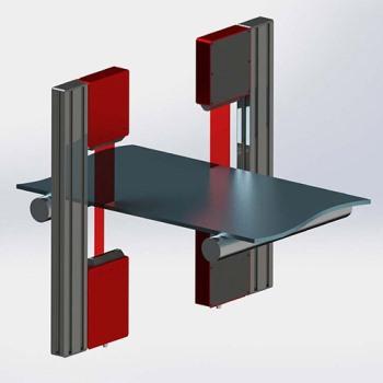 Riftek's Non-Contact Width Measurement System