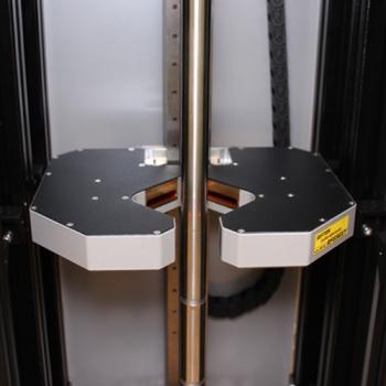 Riftek's Shaft Geometry Measurement Machine