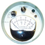VM25E & VM50E High Voltage AC or AC/DC Voltmeters from Ross Engineering Corporation