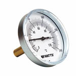 wattTB Center Back-Entry Bimetal Thermometers from Watts Water Technologies