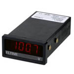 DC Voltmeters from Eltime Controls