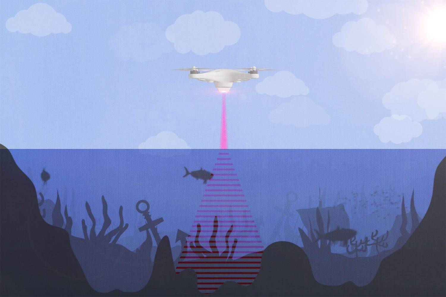 New Photoacoustic Airborne Sonar System Helps Image Underwater Objects