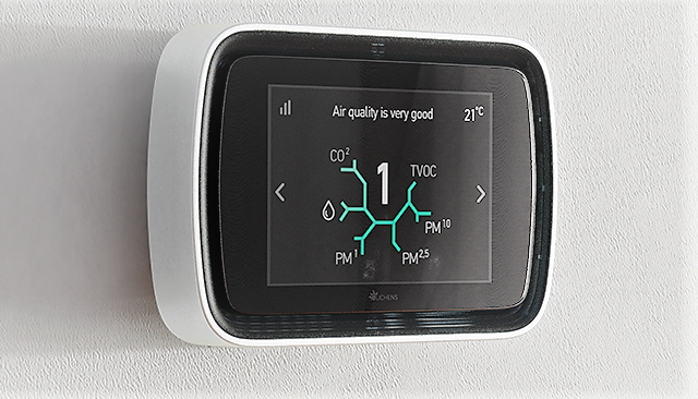 eLichens to Unveil Its New Indoor Air Quality Station at CES2021