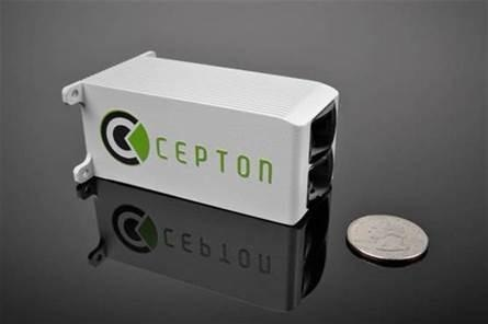 Cepton Introduces the World's Smallest Wide Field of View Lidar Sensor for Near-Range Applications