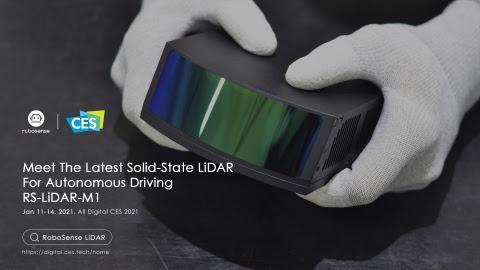 RoboSense Announces the SOP Version Of Automotive-Grade, High-Performance, Solid-State LiDAR At CES2021