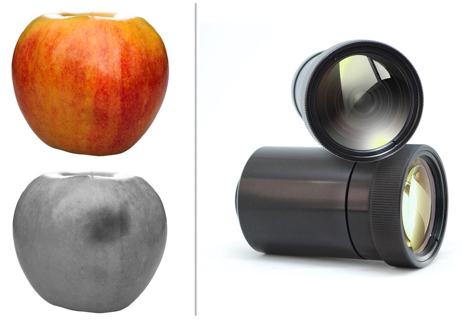 High Contrast SWIR Lenses for Agricultural Sorting