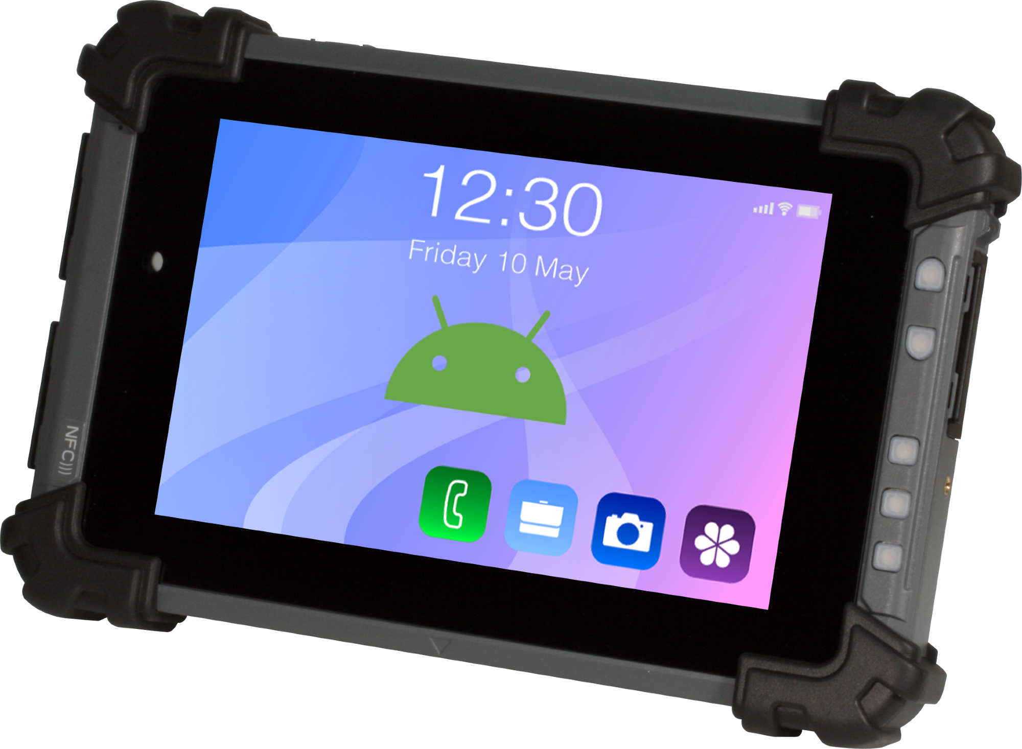 """The RTC-710RK: The Better Performing, Longer Lasting Rugged 7"""" Tablet"""