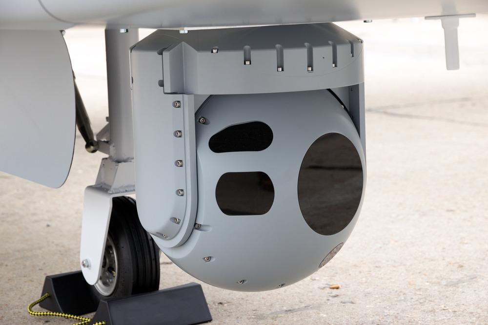 camera mounted on UAV drone