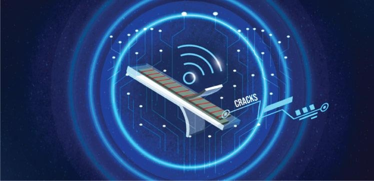 New Sensor to Monitor Strain in Materials and Wirelessly Communicate the Signal.