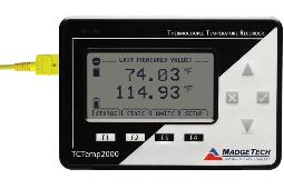Pacific Sensor Technologies Launches TCTemp2000 for Effective Thermal Data Logging