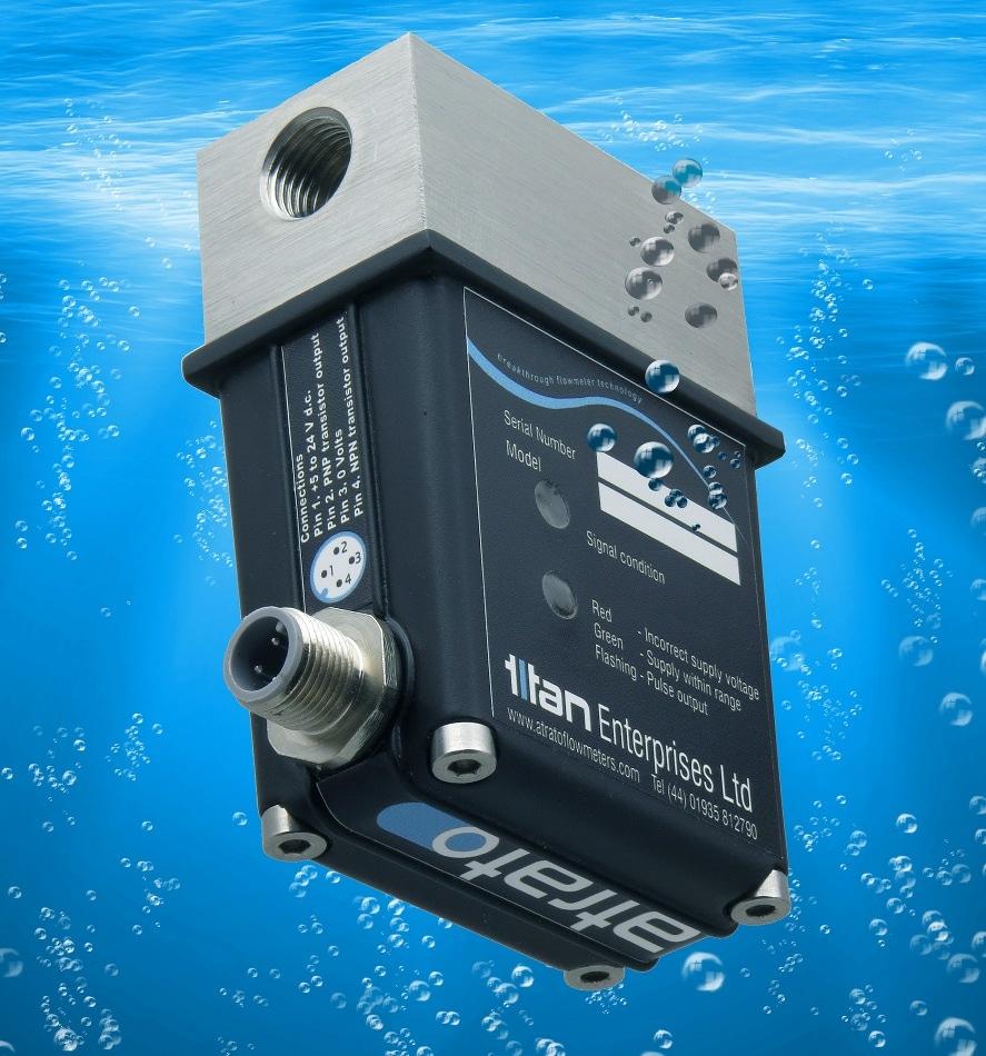 Ultrasonic Flowmeter for Process Measurement & Monitoring