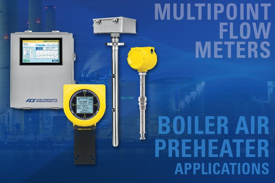 Multipoint Thermal Mass Flow Meters Improve Boiler Air Preheater (APH) System Efficiency
