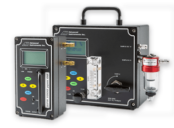 Analytical Industries portable oxygen analyzer series