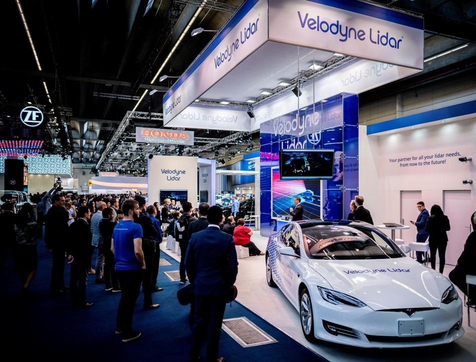 Velodyne Shows Velarray Lidar in Sleek Car Designs at IAA 2019 Conference